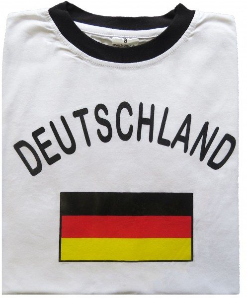 "Fan-Shirt ""Deutschland"" Unisex Football Worldcup T-Shirt Men"