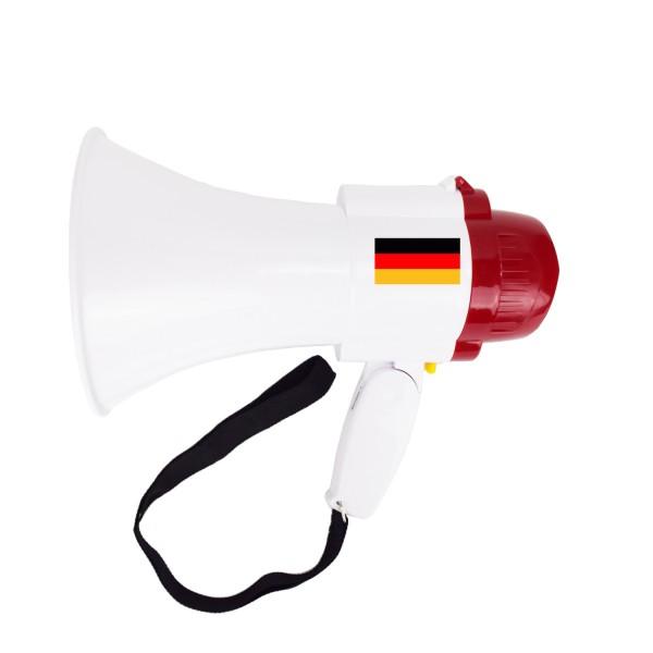 "Megaphone ""Big"" Fan Horn Worldcup Countries Football Sound Soccer"