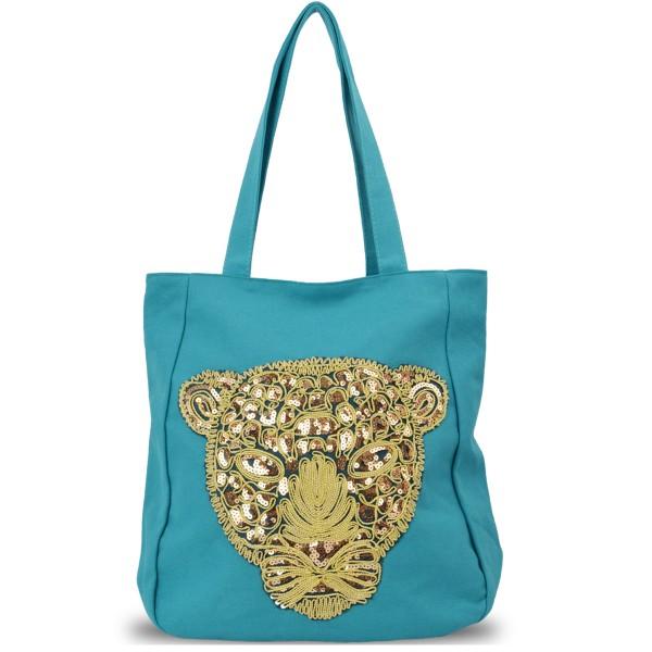 "Ladies Bag ""Dschungel"" Shopping Bag Tiger"