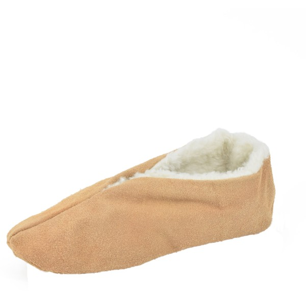 "Genuine Leather Indoor Slipper ""Surpreme"" Wool Lining"