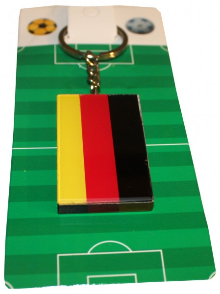 "Key Ring ""Angled"" Germany Hamburg Fan Worldcup Soccer"