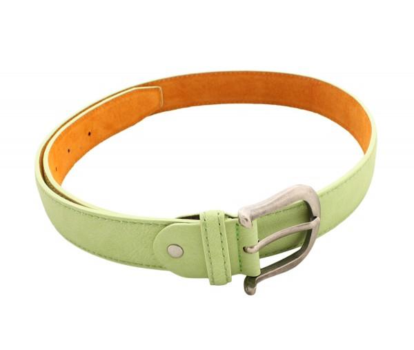 "Womens Belt ""Womens Classic"" Uni Color Summer Pastel"