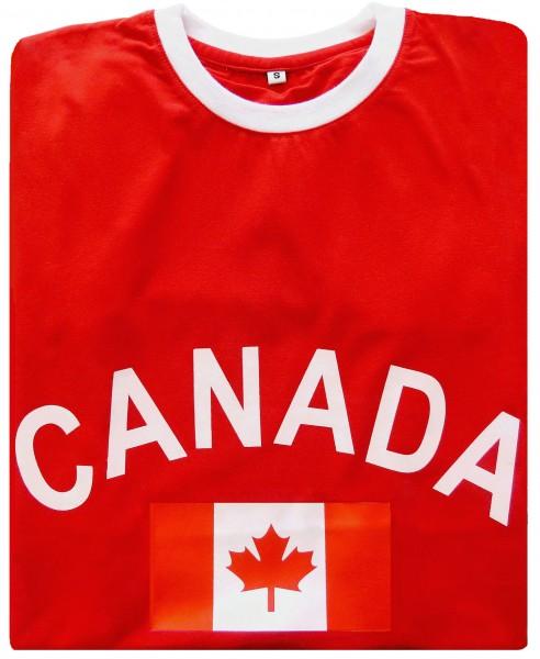 """Fan-Shirt """"Canada"""" Unisex Football Worldcup T-Shirt Men"""
