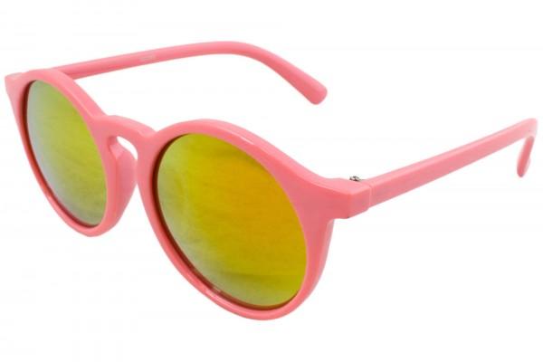Sonnenbrille Fashion Verspiegelt Rund Sommer Fun