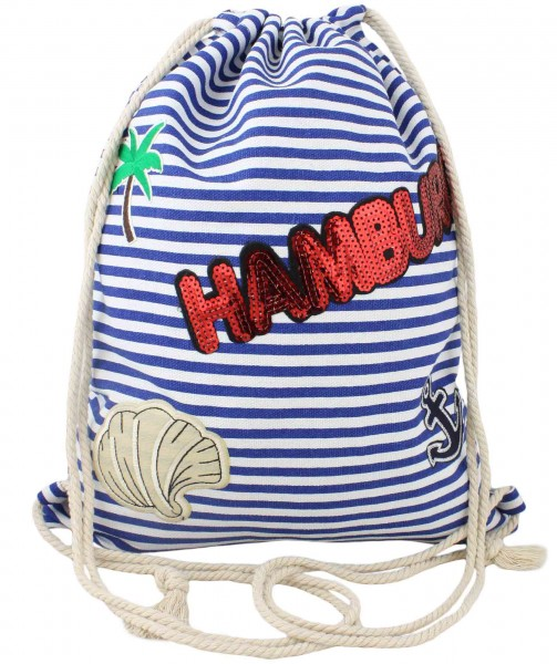 "Patch Rucksack ""Hamburg"" Tasche Bag Backpack"