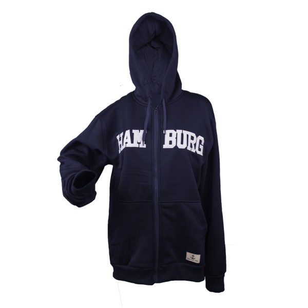 "Sweat Jacket ""Hamburg"" Kids Logo Sweater Patch"