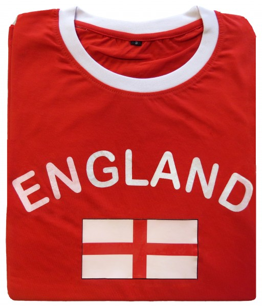 "Fan-Shirt ""England"" Unisex Football Worldcup T-Shirt Men"