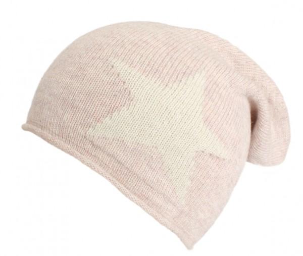 """Knit Beanie """"Star"""" Knitbeanie Wool Premium"""