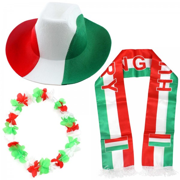 "Fan Package ""Hungary"" Worldcup Football Soccer Cheer Party SET-1"