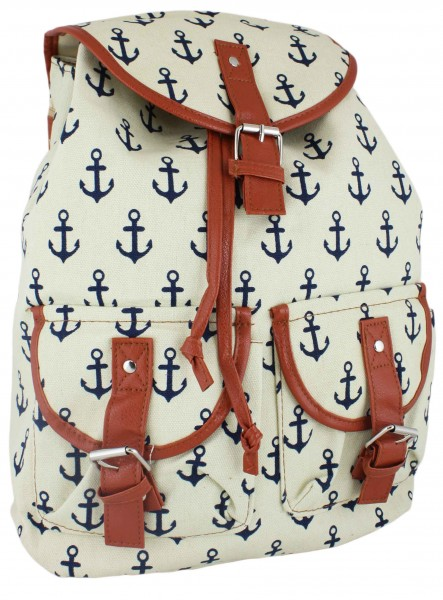 """Backpack Anchor """"Lilly"""" Bag Maritime"""