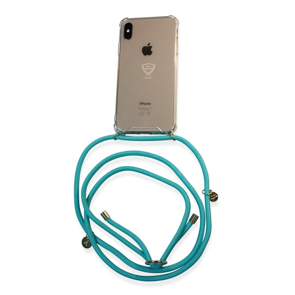 Mobile necklace turquoise for Huawei with charms Necklace Smartphone Chain Cloak