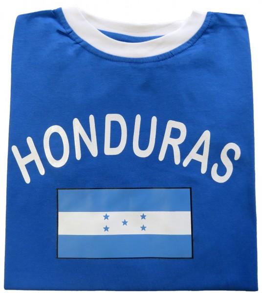 """Fan-Shirt """"Honduras"""" Unisex Fußball WM EM Herren T-Shirt"""