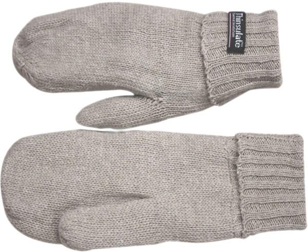 Knitted Mitten Gloves Wool Unisex