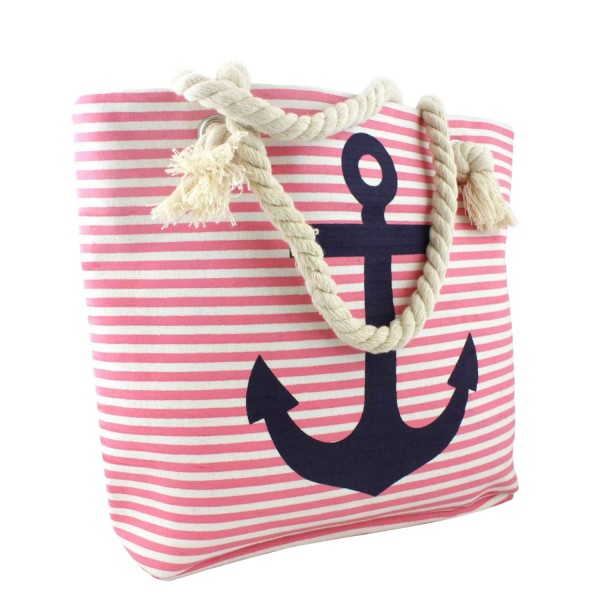 Beach bag with Anchor Shopper