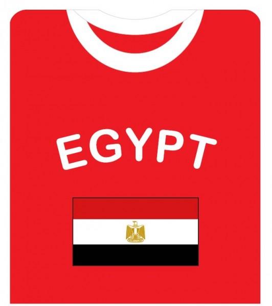 """Fan-Shirt """"Egypt"""" Unisex Fußball WM EM Herren T-Shirt"""