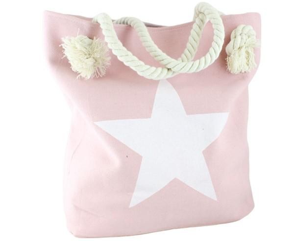 """Strandtasche Stern Uni """"Anna"""" Beachbag Shopper"""