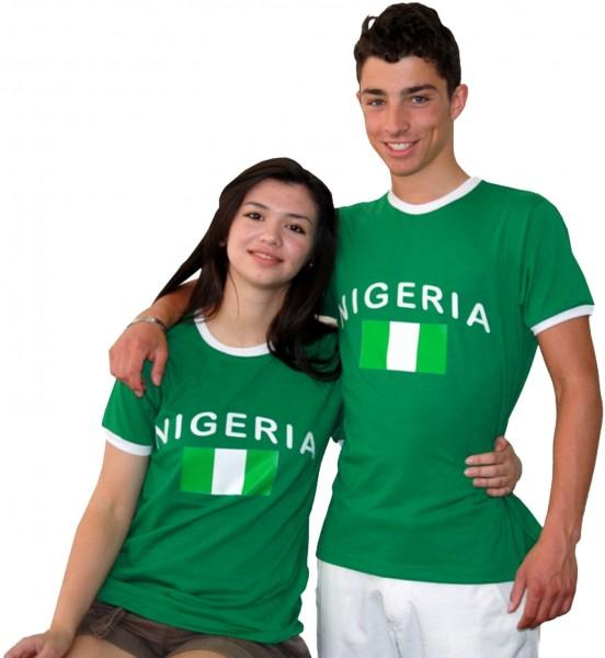 """Fan-Shirt """"Nigeria"""" Unisex Football Worldcup T-Shirt Men"""