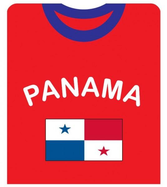 """Fan-Shirt """"Panama"""" Unisex Fußball WM EM Herren T-Shirt"""