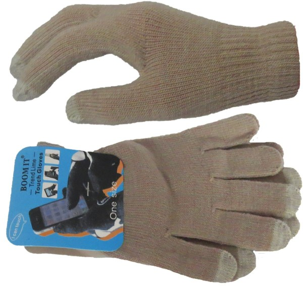 "Kniited Gloves ""Smartphone"" Touch Fingers Phone Mobile Unisex"