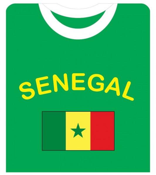"""Fan-Shirt """"Senegal"""" Unisex Football Worldcup T-Shirt Men"""