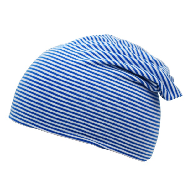 "Beanie Slouch ""Stripes UNI"" Maritime Striped Jersey"