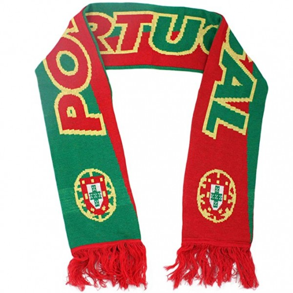 "Scarf Long ""Fan Scarf"" Shawl Fringes Soccer Worldcup"