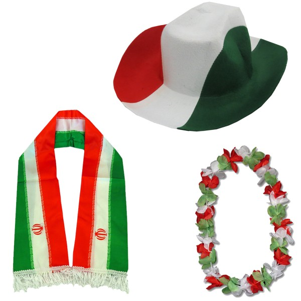 "Fan Package ""Iran"" Worldcup Football Soccer Cheer Party SET-1"