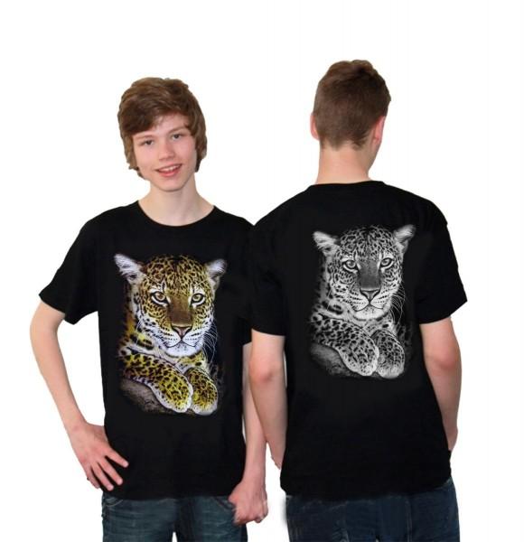 """T-Shirt """"Fantasy"""" Totenkopf Biker Wolf Rocker Indianer Baumwolle"""