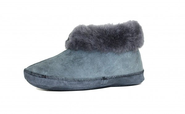 "Indoor Slipper ""Unique"" Real Sheep Skin Genuine Leather Lamb Fur"