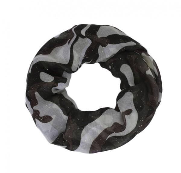 "Scarf Loop ""Military"" Glitter Summer"