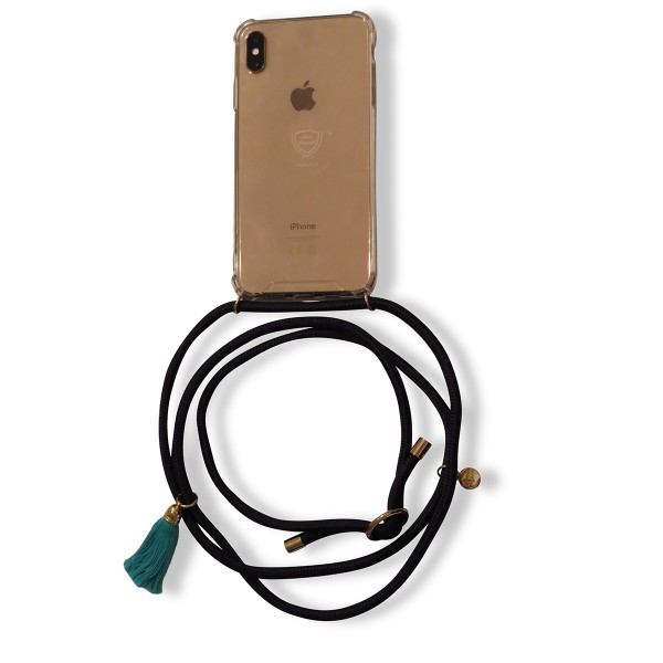 Mobile necklace navy for Samsung with tassles Necklace Smartphone Chain
