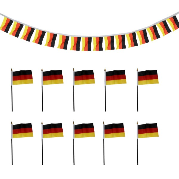 Fan Package Worldcup Football Soccer Mini Flags Garland Party SET-16