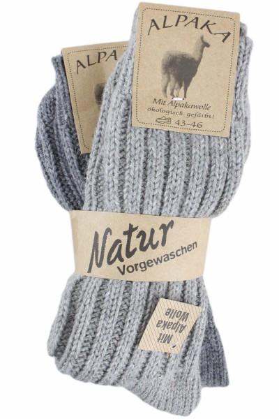 "2 Pairs Alpaca Socks ""Thick"" Winter Sheep Wool"