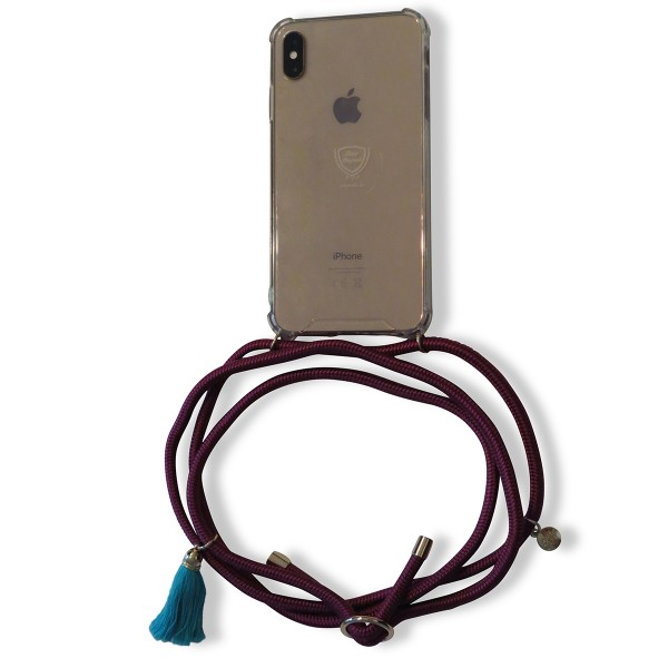 Mobile necklace berry for Iphone with tassles Necklace Smartphone Chain