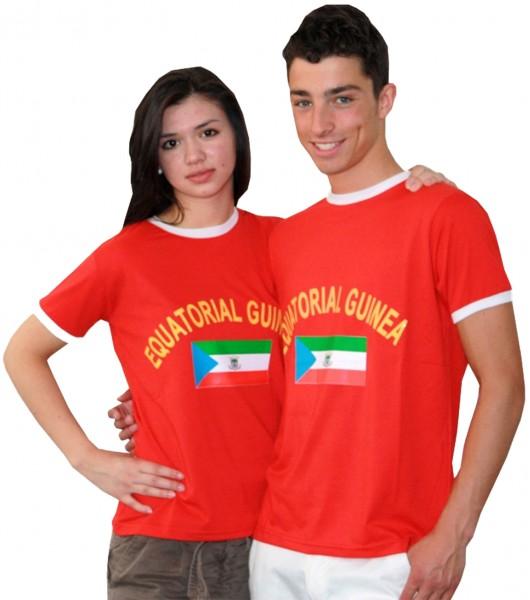 """Fan-Shirt """"Äquatorial Guinea"""" Unisex Fußball WM EM Herren T-Shirt"""