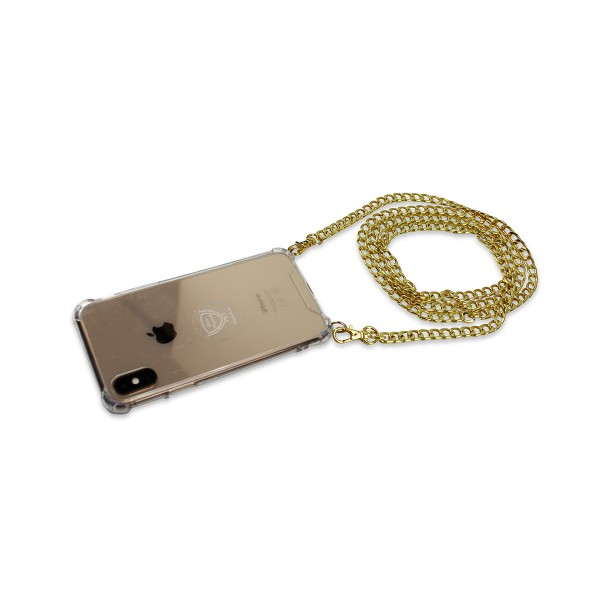 "Mobile Phone Chain ""Suitable for Huawei Models"" Plain Coil Chain Necklace Case Cover"