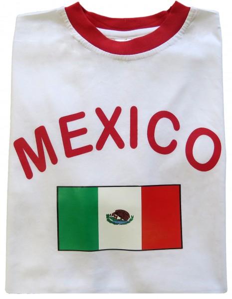 """Fan-Shirt """"Mexico"""" Unisex Fußball WM EM Herren T-Shirt"""