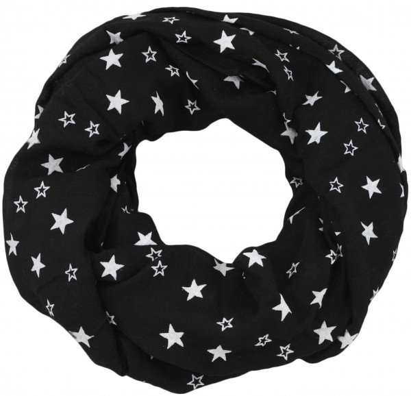"Scarf Loop ""Stars"" High Print Summer"