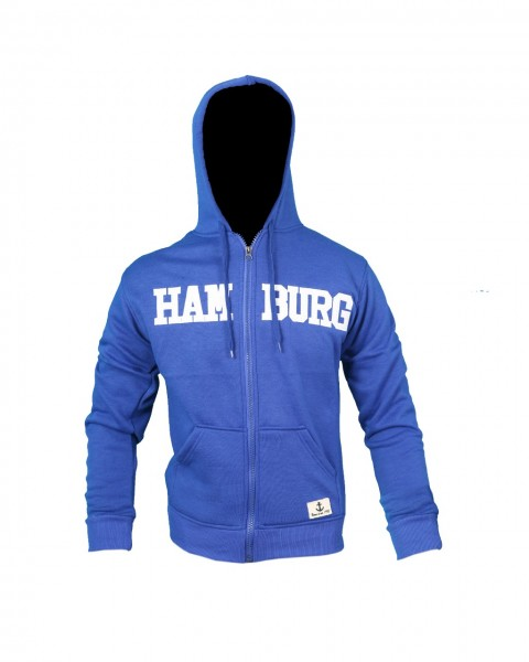 "Sweat Jacket ""Hamburg"" Man Logo Sweater"
