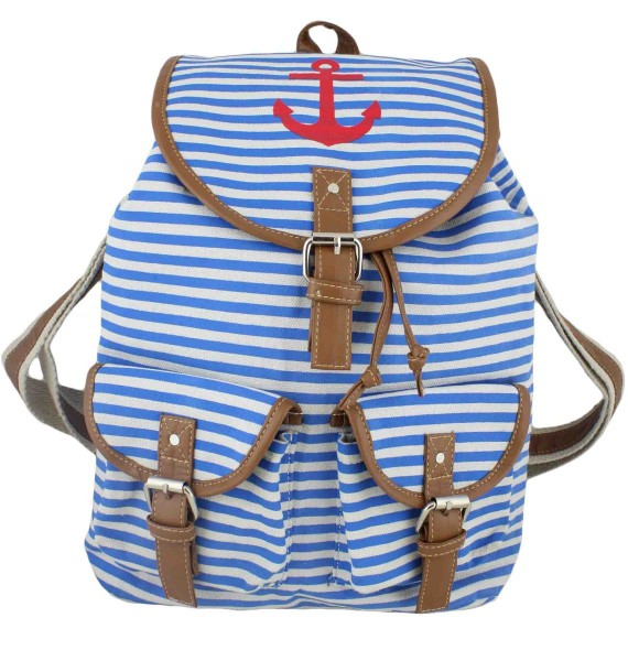 "Backpack ""Marlene"" Bag Maritime"