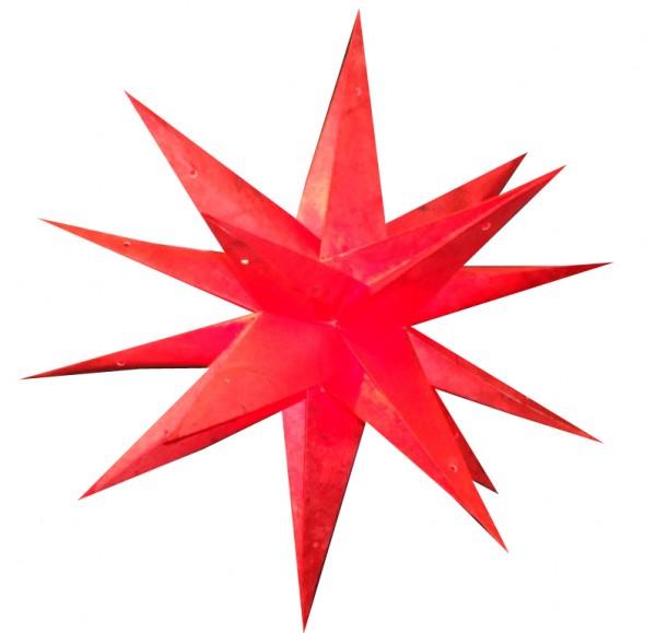 Weihnachtsstern 60cm 3D Papier-Stern Weihnachtsdeko