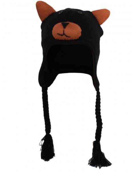"Kids Winter Hat ""Animals"" Giraffe Owl Bear"