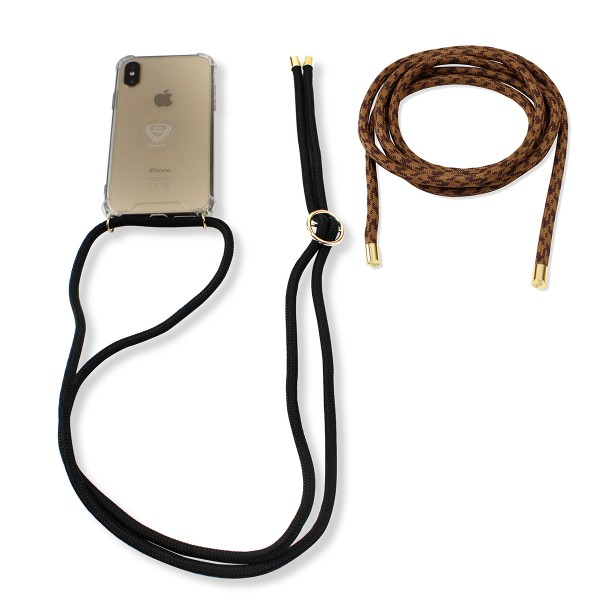 "SET Mobile Phone Chain and Removable Strap ""Suitable for Samsung Galaxy S8"" Case Necklace"