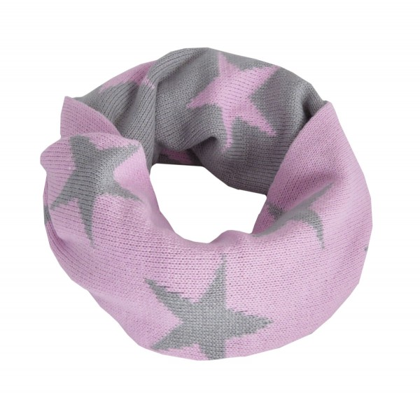 "Loop ""Star"" Scarf Polyacrylic Winter"