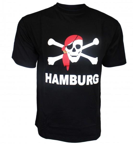 "Kinder T-Shirt ""Hamburg Pirat"" Baumwolle"