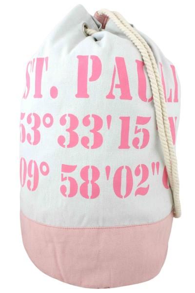 "XL Sea Bag ""St.Pauli"" Maritime Navy Backpack"