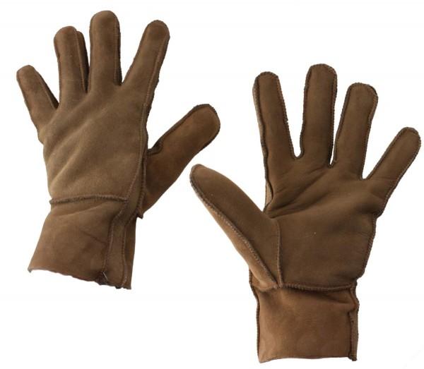 Handschuhe Luxus Leder Lammfell Winter Unisex