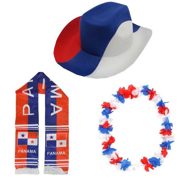 "Fan Package ""Panama"" Worldcup Football Soccer Cheer Party SET-1"