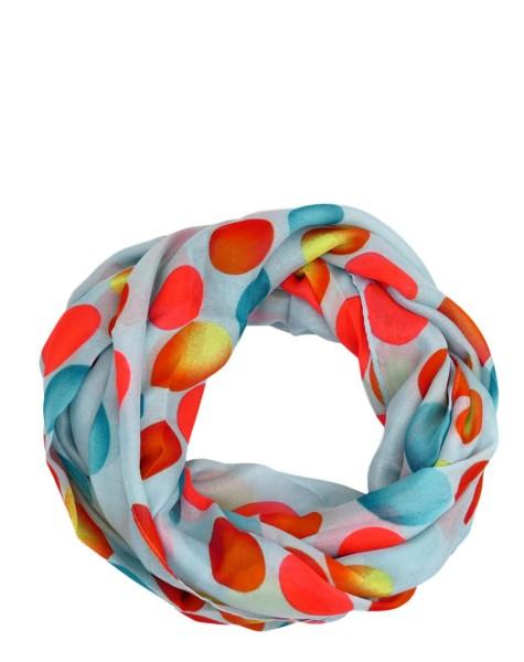 """Scarf Loop """"Balls"""" Round Shawl Summer"""