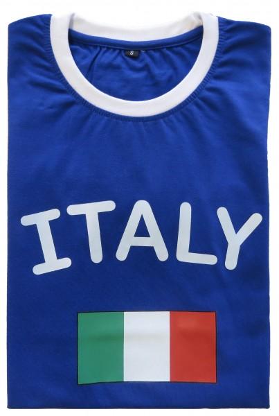 """Fan-Shirt """"Italy"""" Unisex Football Worldcup T-Shirt Men"""